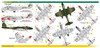 FCM Gloster Meteor Mk.8 / TF-7 (FAB) Decals 1:72 Scale (FCD072047)