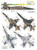 FCM F-5E FAB (7 versions) Decals 1:32 Scale (FCD032019)