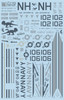 FCM F-14A Tomcat - VF114 Aadvarks Decals 1:32 Scale (FCD032020)