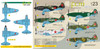 FCM MIG-3 (7 versions) Decals 1:32 Scale (FCD032023)