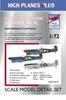 High Planes Plus VS Spitfire Mk.Vc RAAF Defence of Australia Detail Set Accessories 1:72