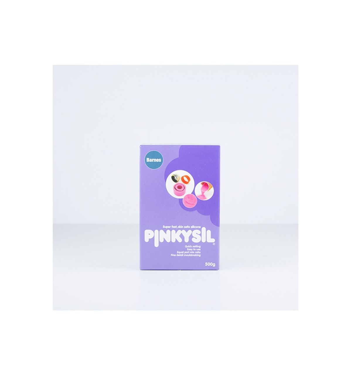 Barnes Pinkysil 500g Casting Silicone kit
