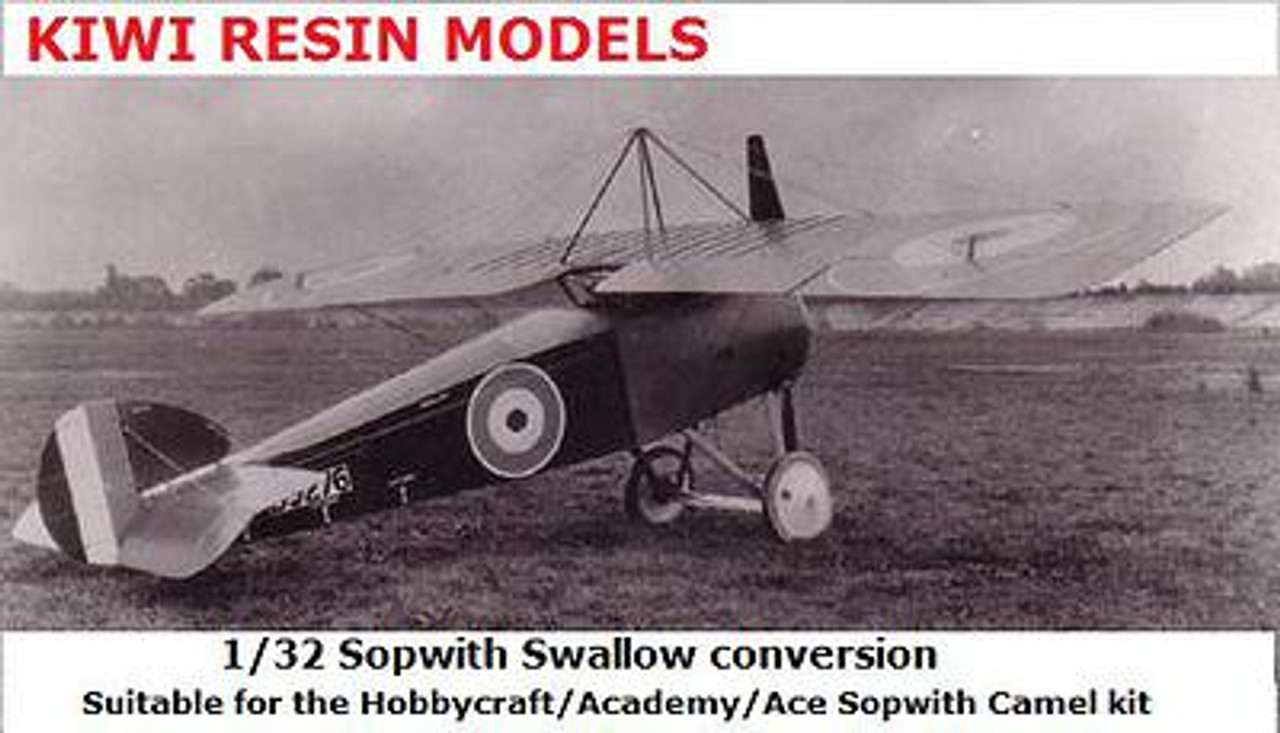 Kiwi Resins Sopwith Swallow conversion 1/32