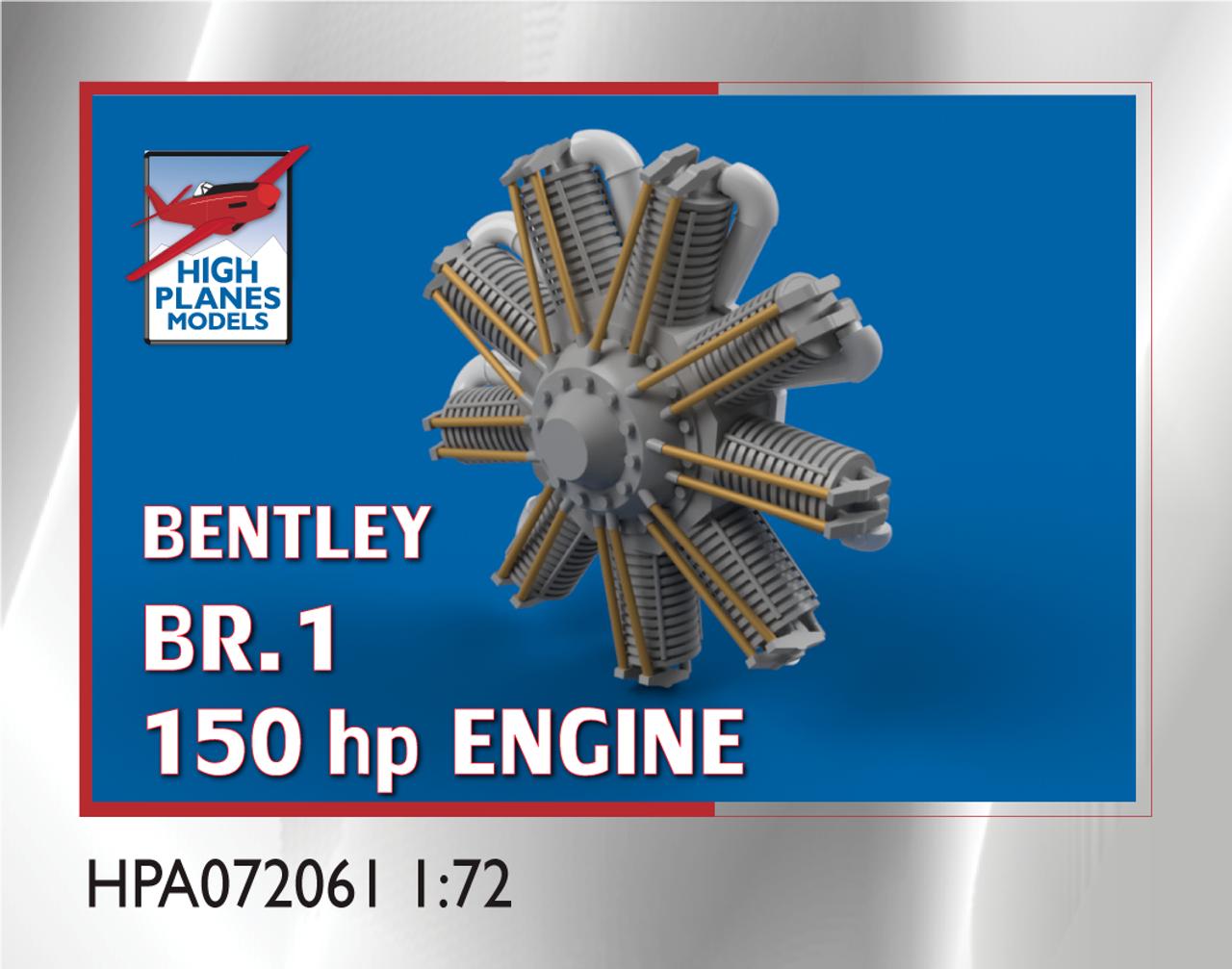 High Planes Bentley BR.1 engine (Accessories 1:72)