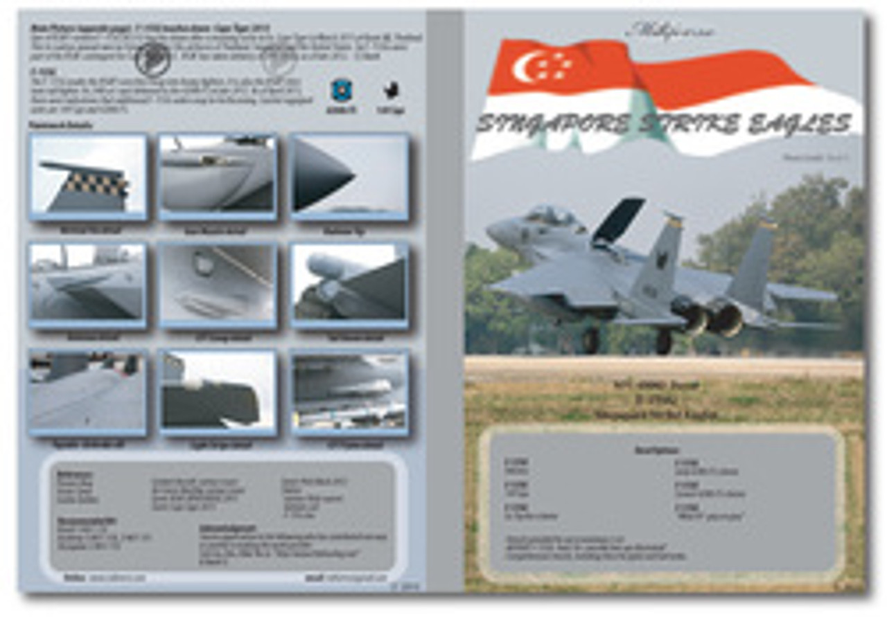 MILIVERSE MV-48003 RSAF F-15SG Singapore Strike Eagles 1:48 Decals (MV-48003)