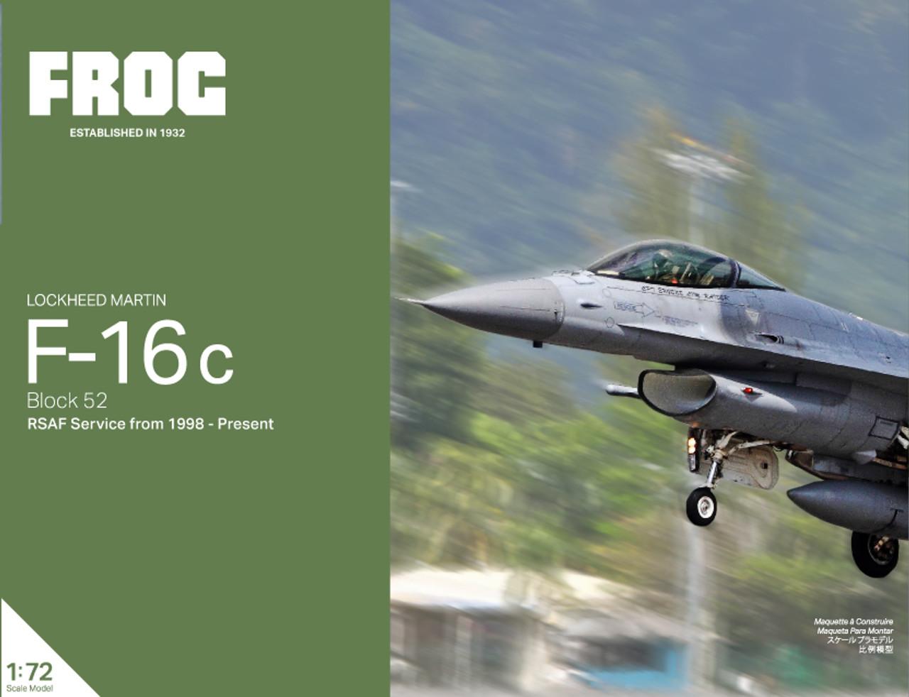 Frog Lockheed Martin F-16C Republic of Singapore Kit 1:72