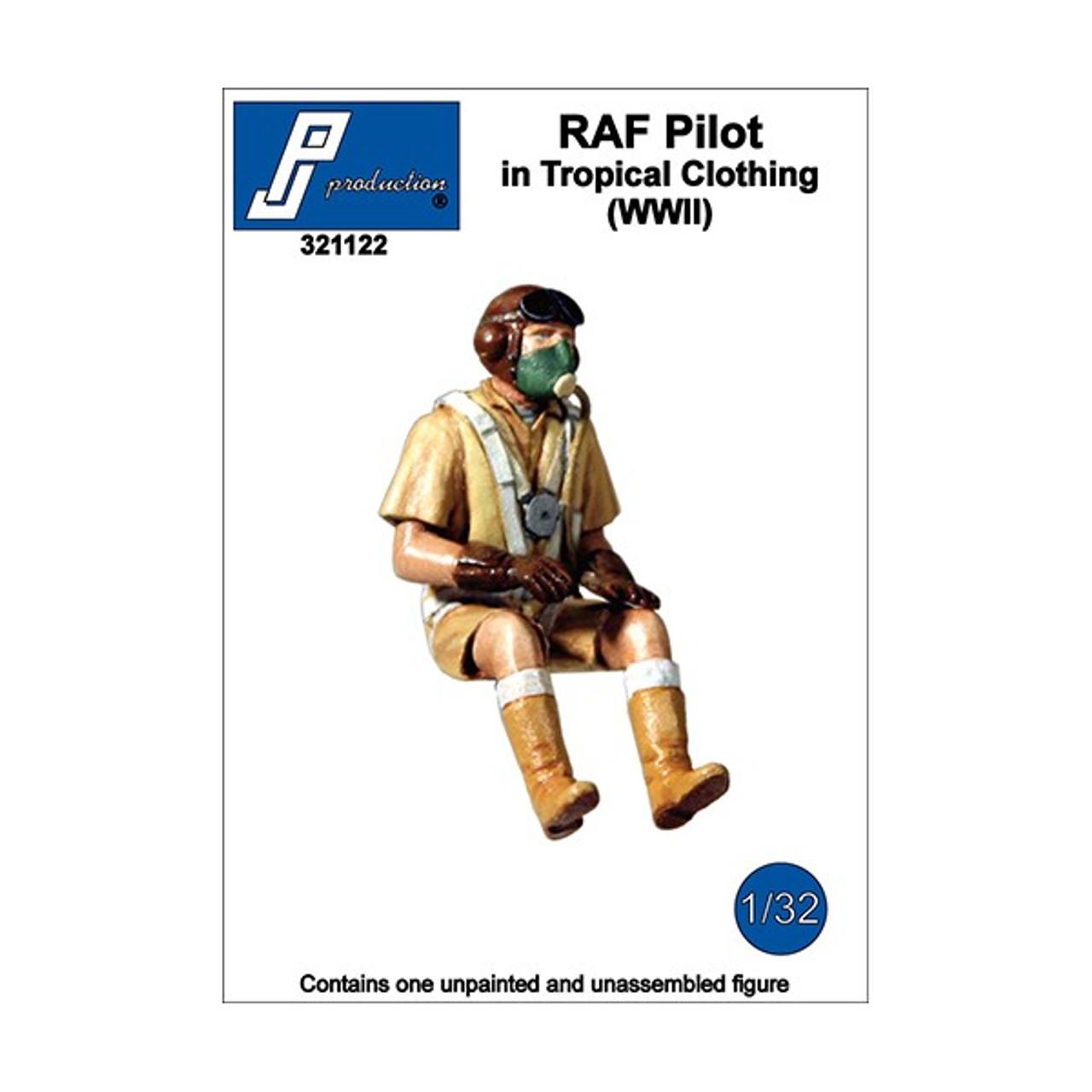 1:32 Eurofighter pilot PJ Production resin Typhoon