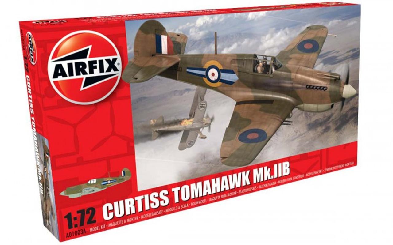 Airfix A01003A Curtiss Tomahawk Mk.IIB 1:72 Scale Model Kit