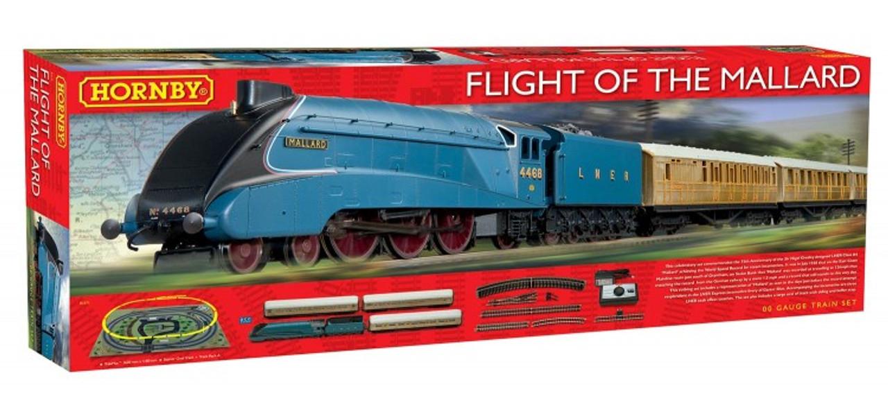 Hornby Flight Of The Mallard Train Set 00 Scale (R1171)