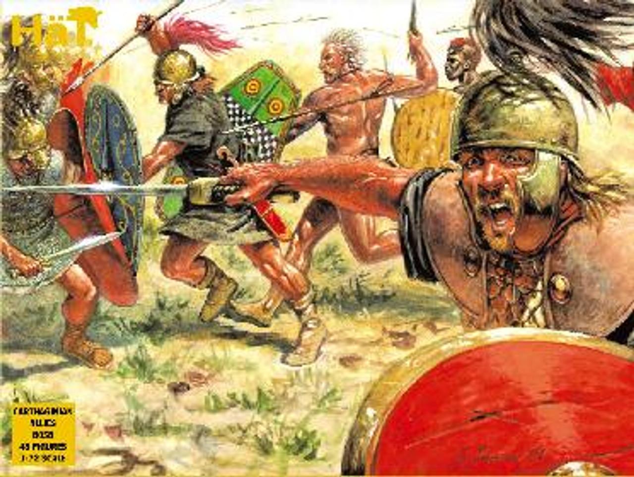 HaT 8058 Hannibal's Carthaginian Allies Figures 1:72 Scale