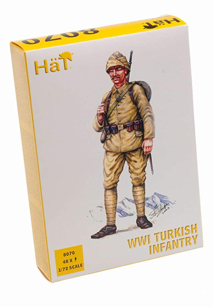 HaT 8070 WWI Ottoman Infantry Figures 1:72 Scale