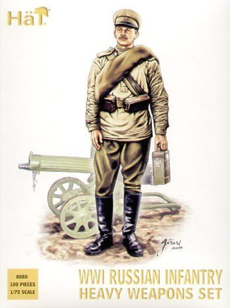 HaT 8080 WWI Russian Heavy Weapons Figures 1:72 Scale