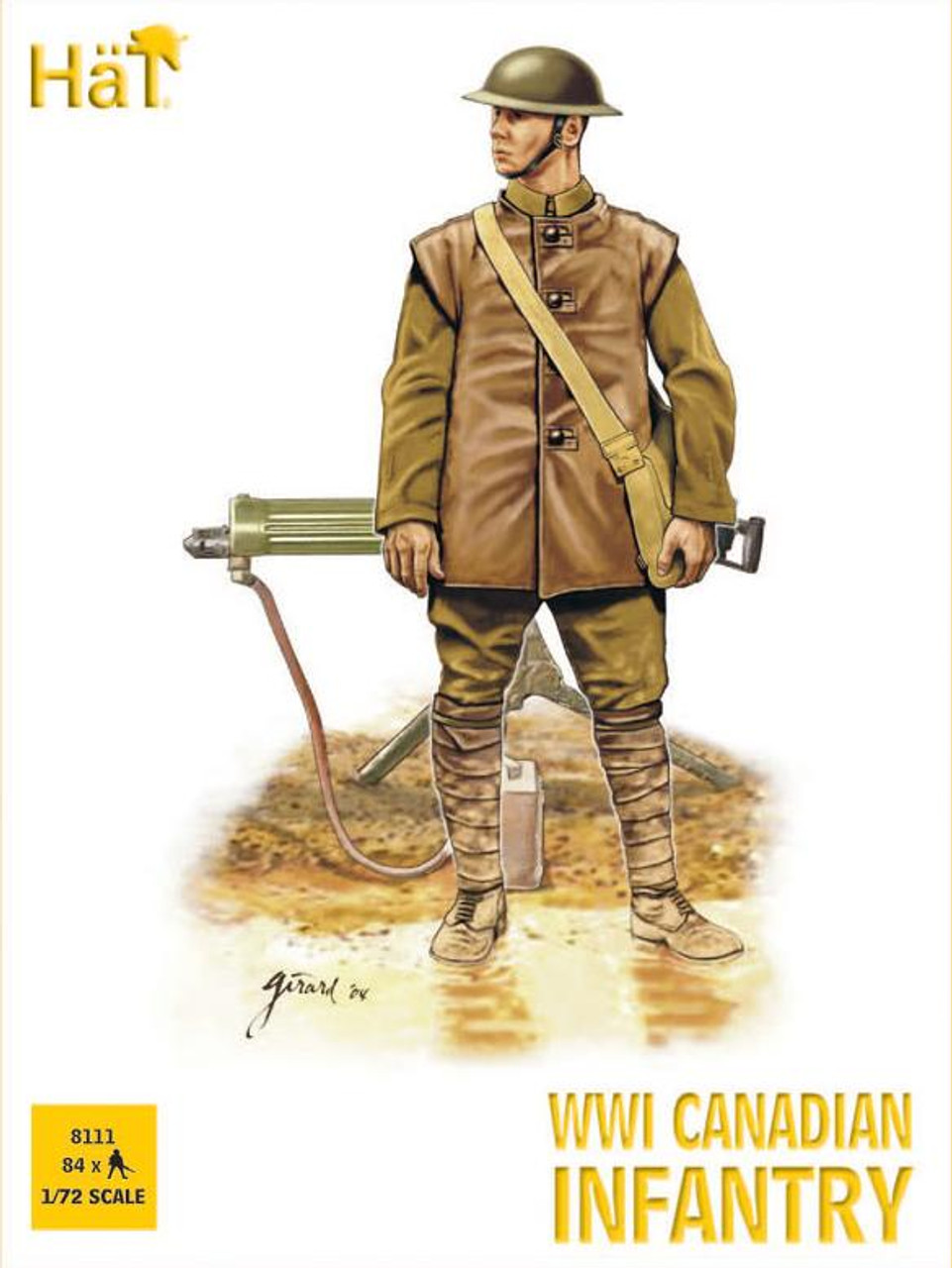 HaT 8111 WWI Canadian Infantry  Figures 1:72 Scale