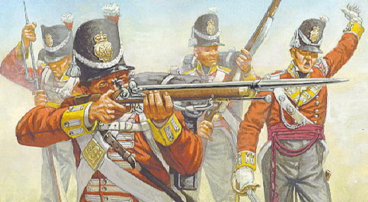 HaT 7009 Waterloo British Infantry Figures 1:72 Scale (HAT07009)