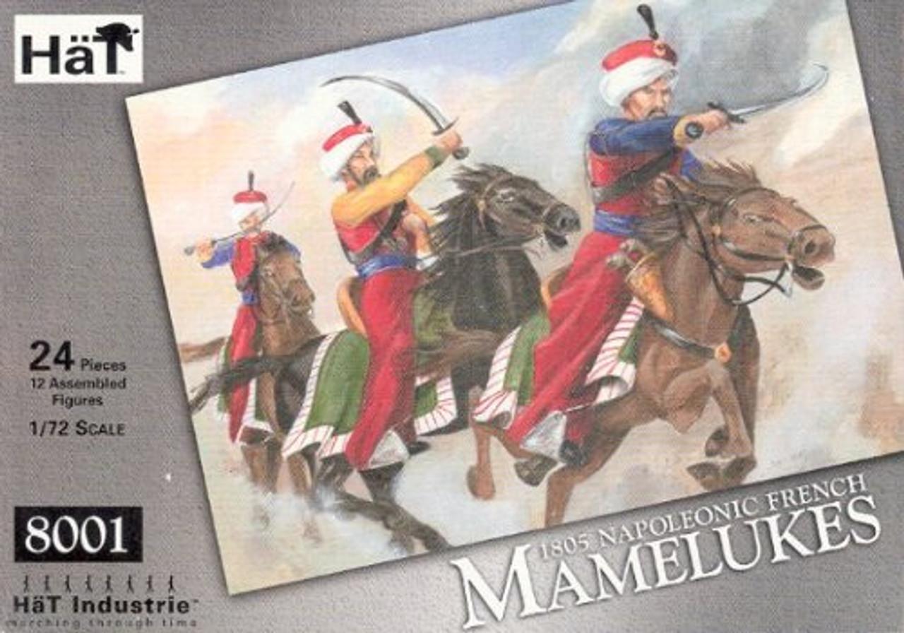 HaT 8001 Napoleonic French Mamelukes Figures 1:72 Scale
