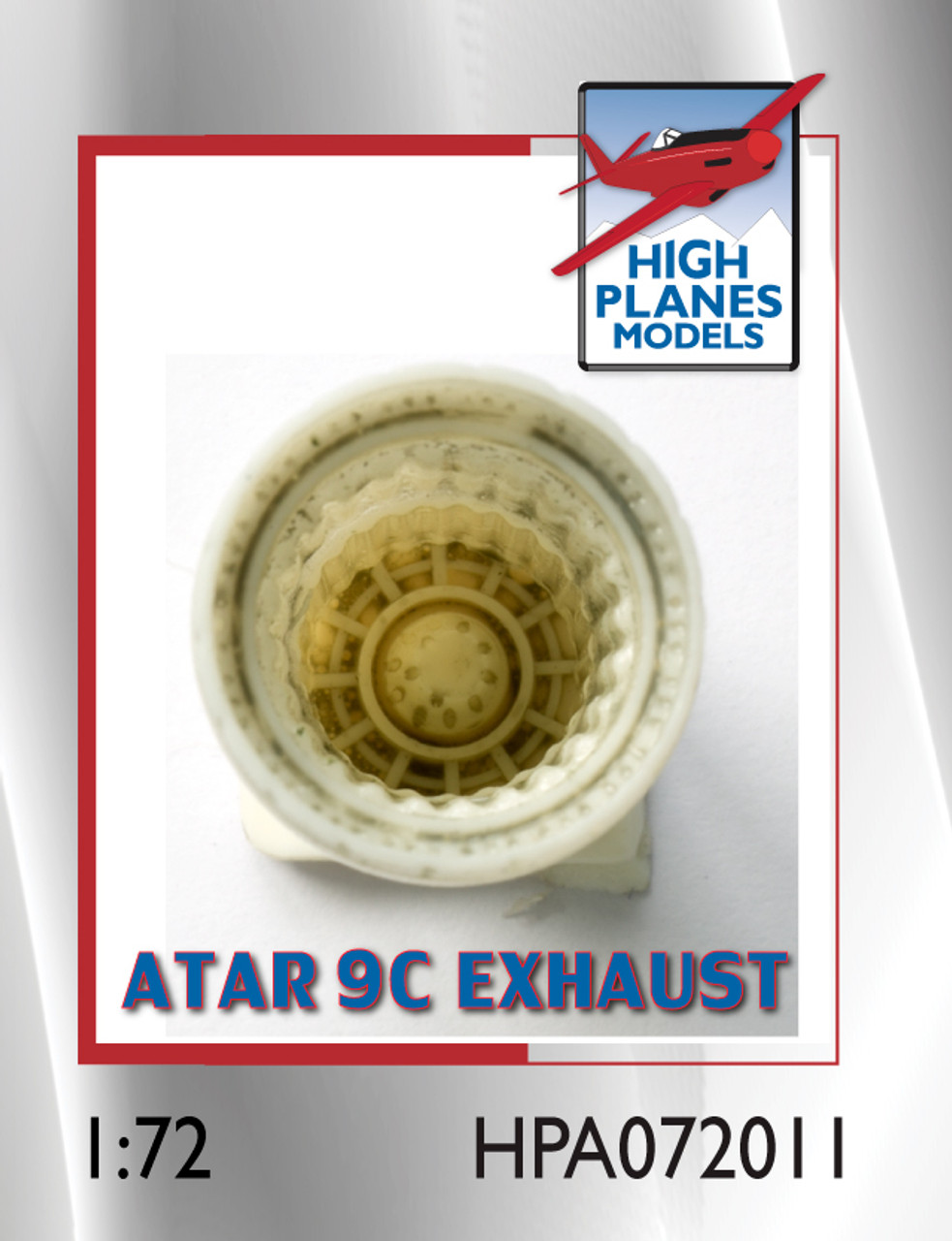 High Planes Dassault Mirage IIIE O Atar 9C exhaust pipe Accessories 1:72