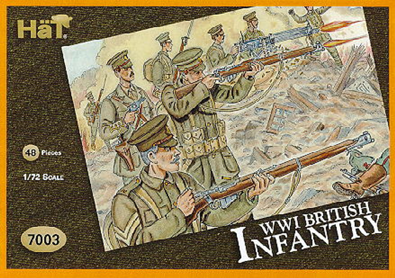 HaT 7003 WWI French Infantry Figures 1:72 Scale