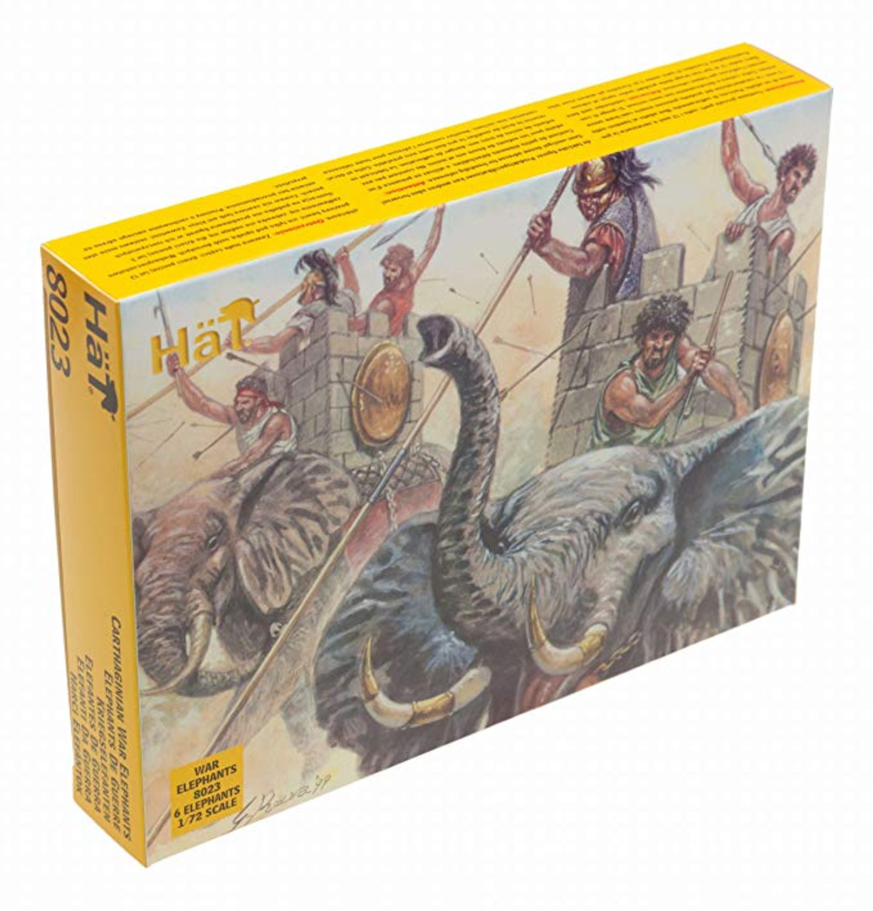 HaT 8012 Napoleonic Russian Dragoons  Figures 1:72 Scale