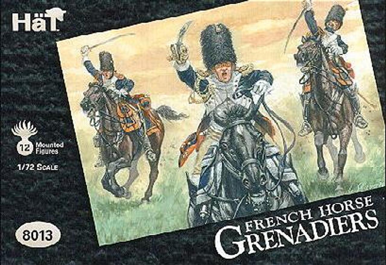 HaT 8013 Napoleonic Horse Grenadiers Figures 1:72 Scale