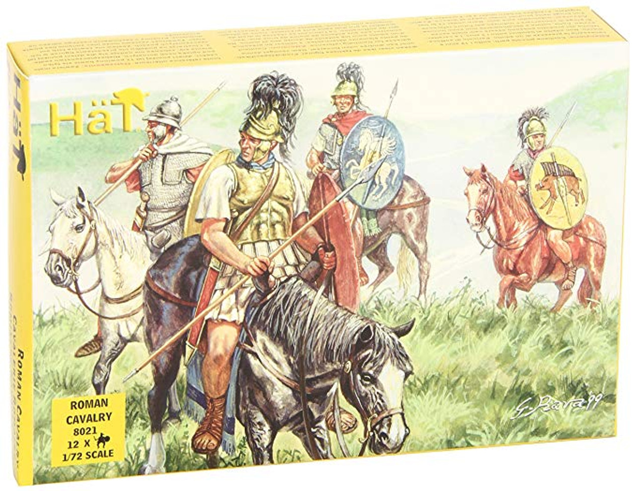 HaT 8021 Republican Roman Cavalry Figures 1:72 Scale