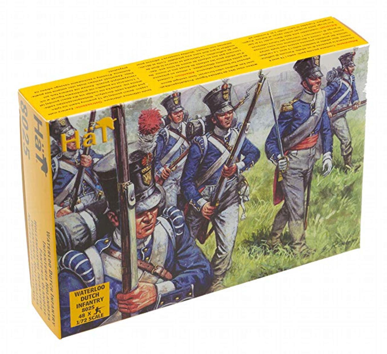 HaT 8025 Waterloo Dutch Infantry Figures 1:72 Scale