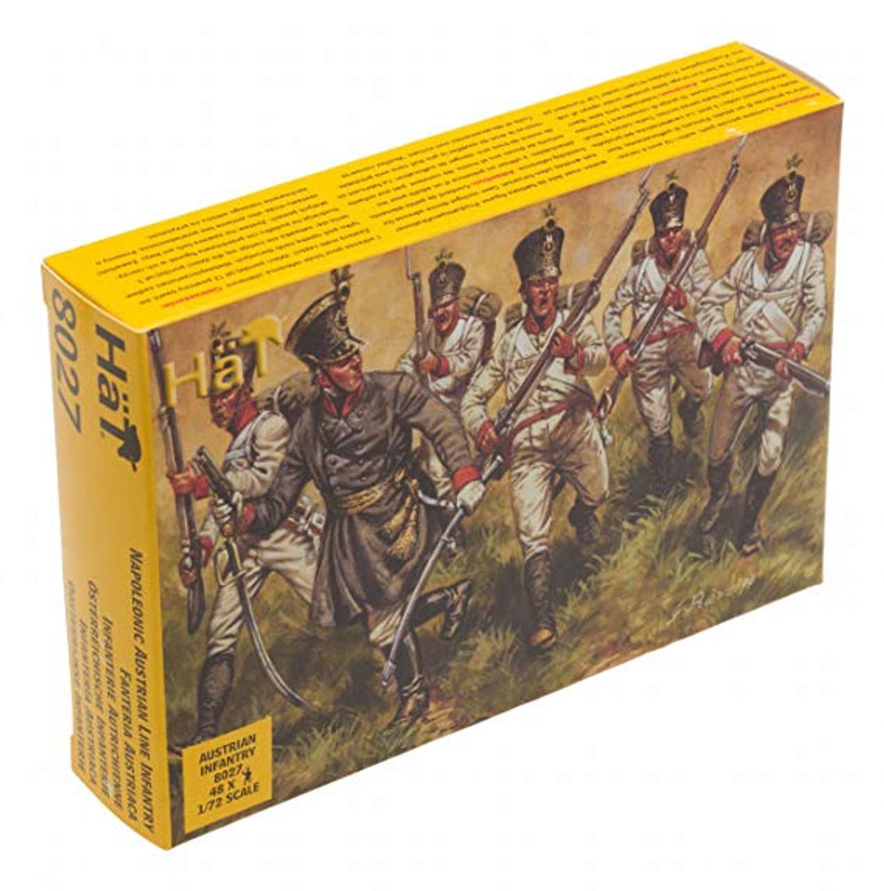HaT 8027 Napoleonic Austrian Infantry Figures 1:72 Scale