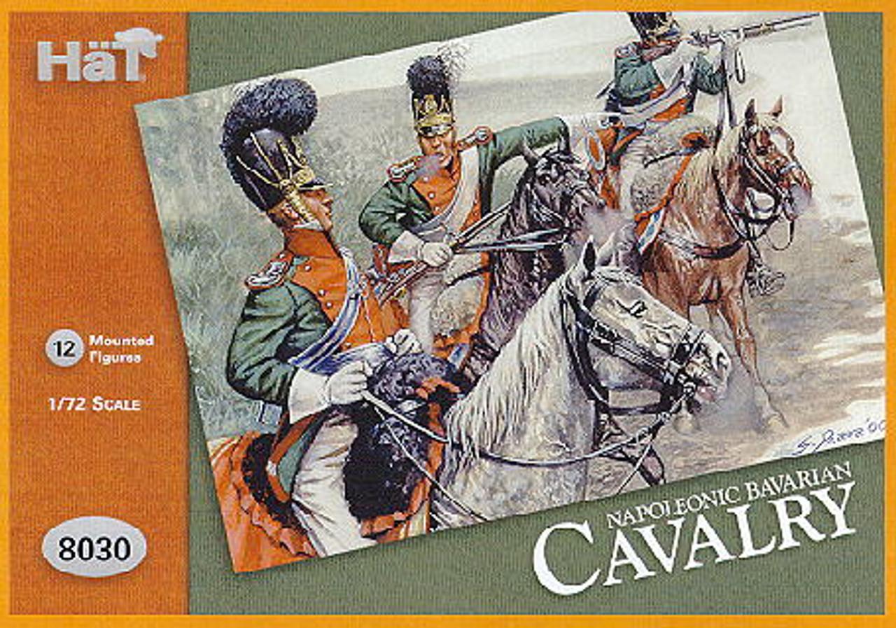 HaT 8030 Napoleonic Bavarian Cavalry  Figures 1:72 Scale (HAT08030)