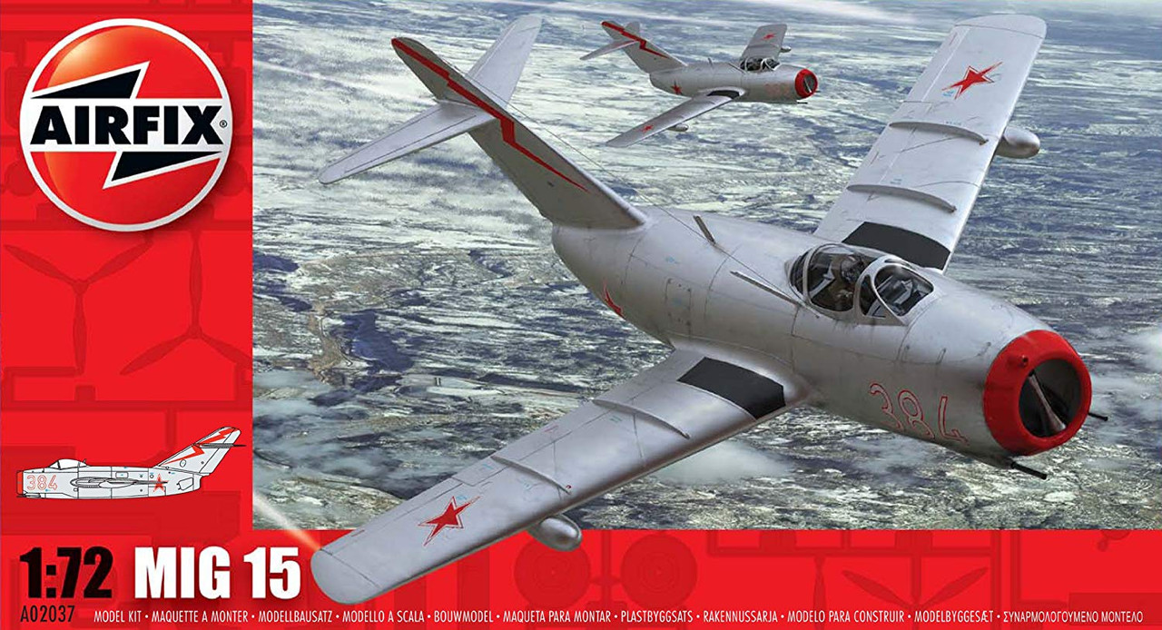 Airfix A02037 MiG-15 1:72 Scale Model Kit