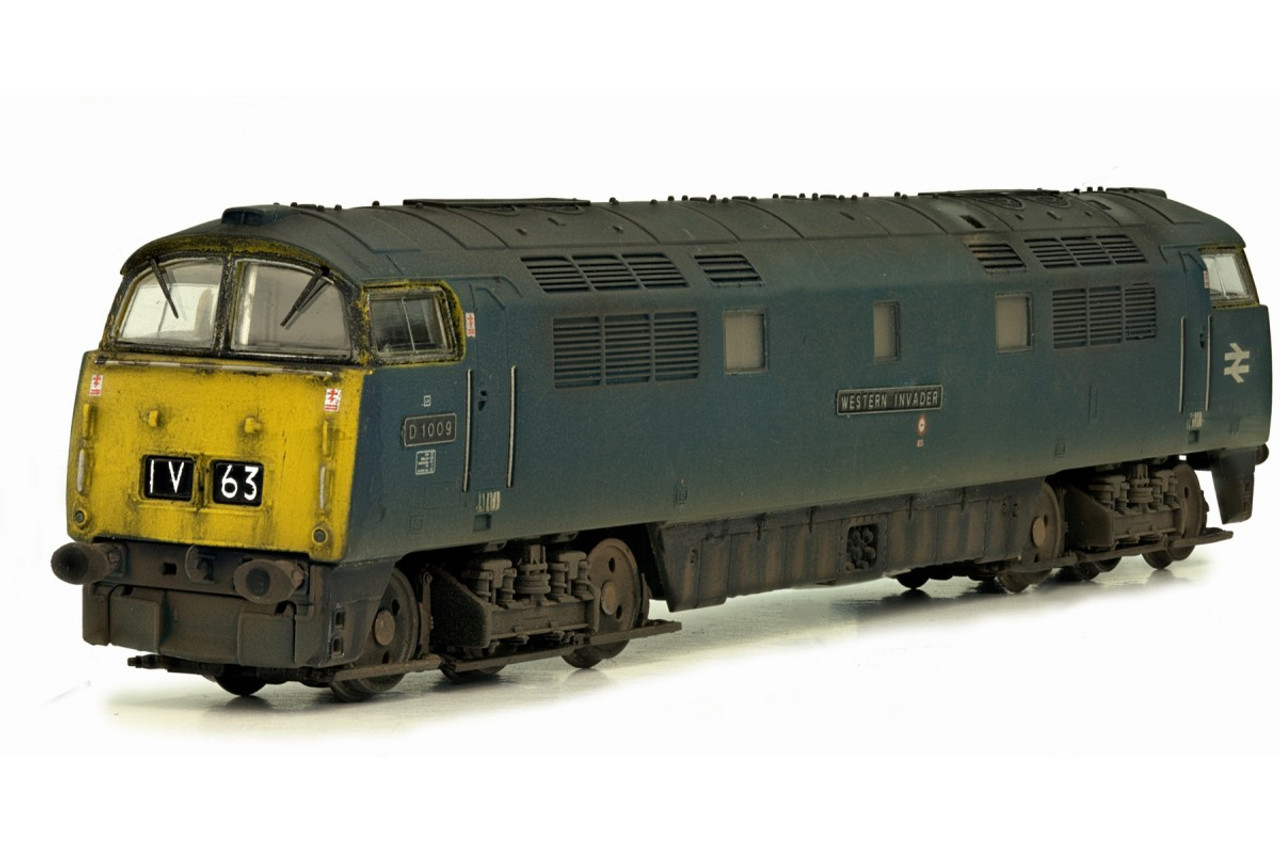 Dapol 2D-003-011 Class 52 Br Blue #D1009 N Gauge Model Railway Rolling Stock