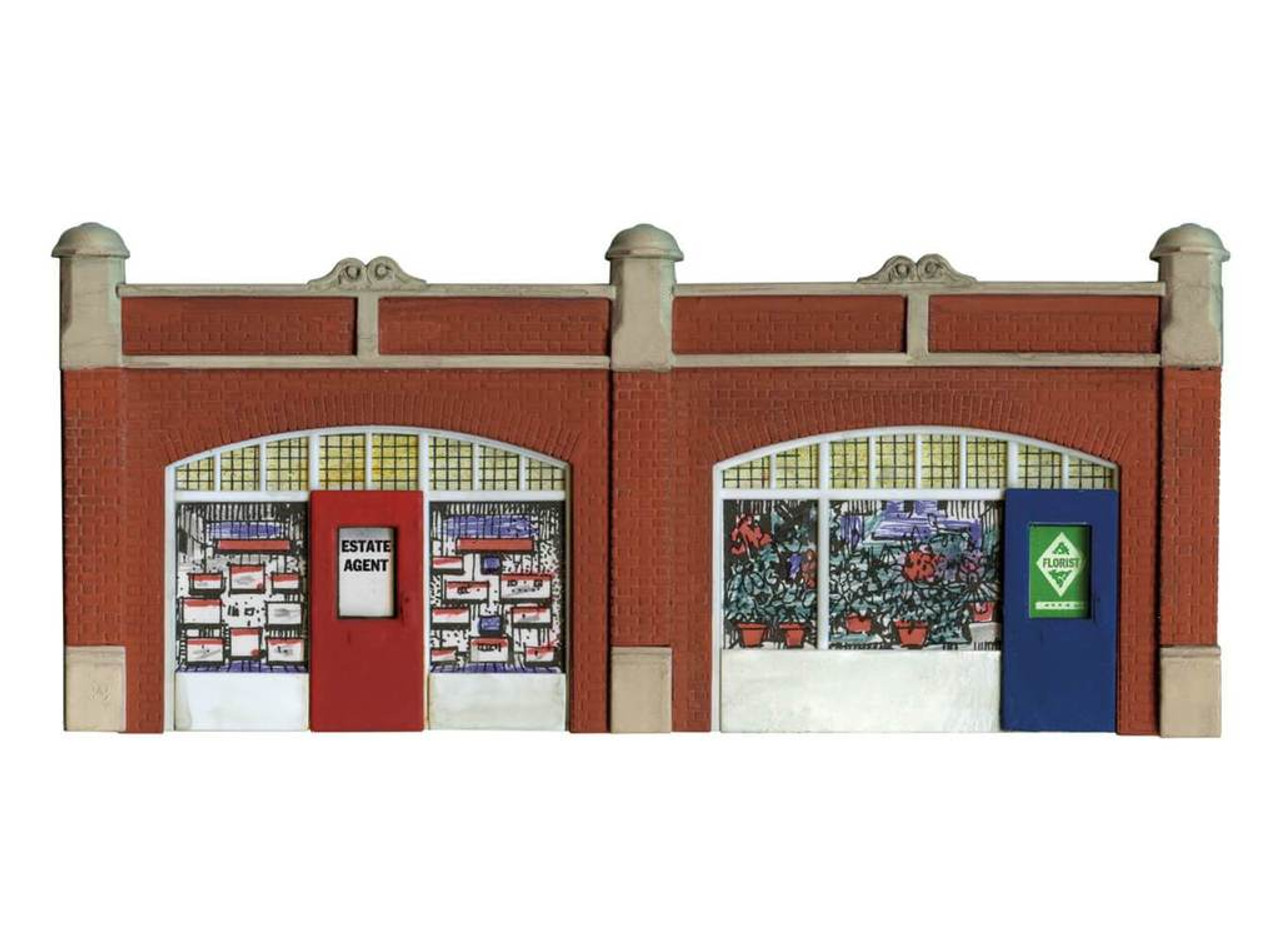 Wills Kits Scenic Series SS18 Station Forecourt Shops OO/HO Lineside Accessories