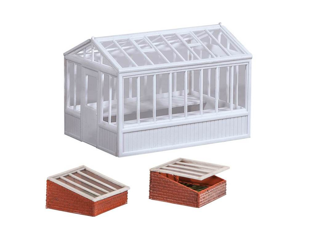 Wills Kits Scenic Series SS20 GreenHouse & Cold Frames OO/HO Lineside Accessories