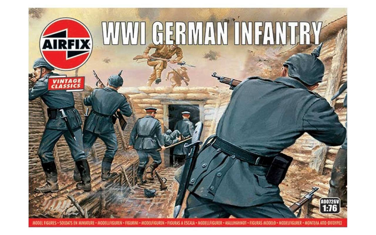 Airfix A00726V WW1 German Infantry 1:76 Scale Model Figures