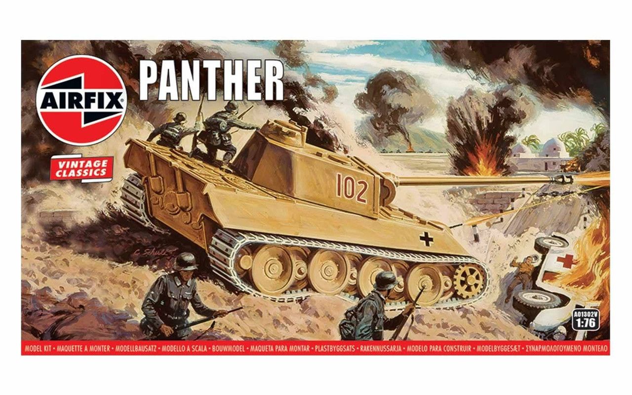 Airfix A01302V Panther 1:76 scale model kit
