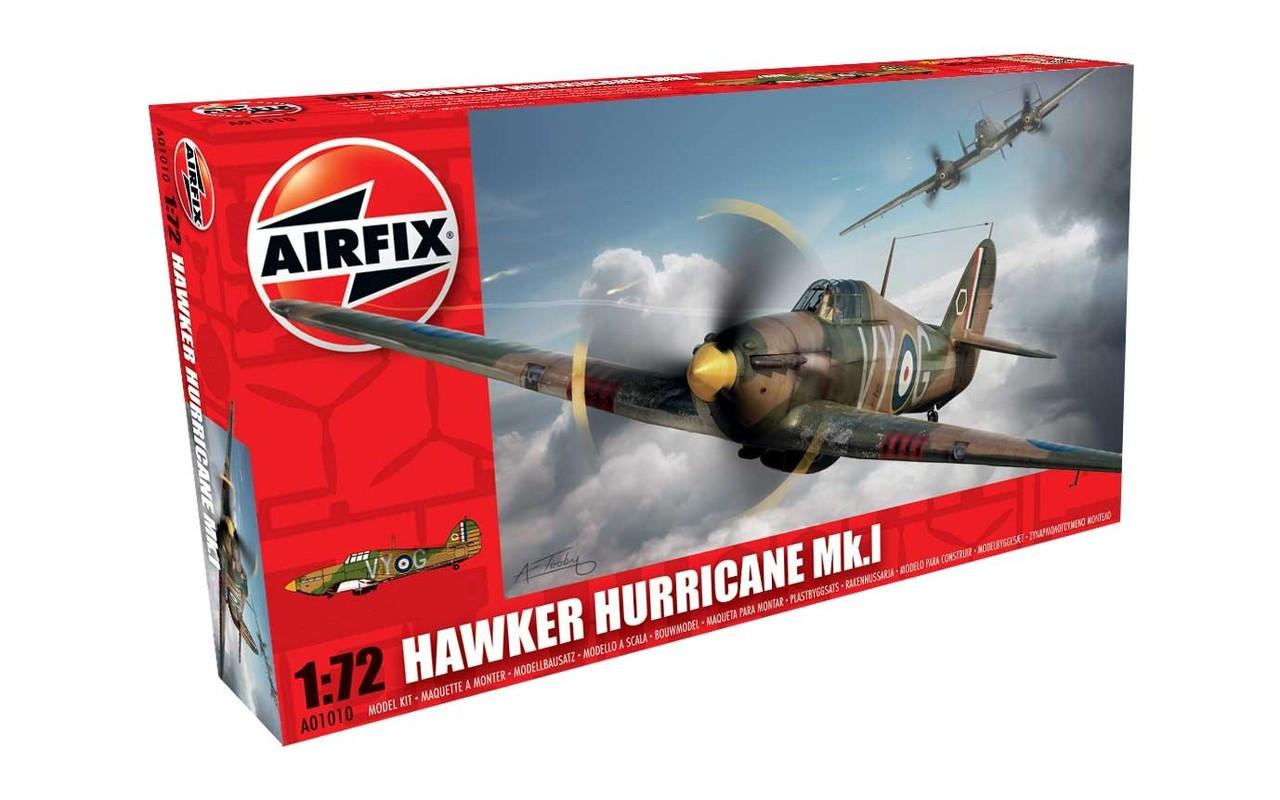 Airfix A01010 Hawker Hurricane MkI 1:72 Scale Model Kit