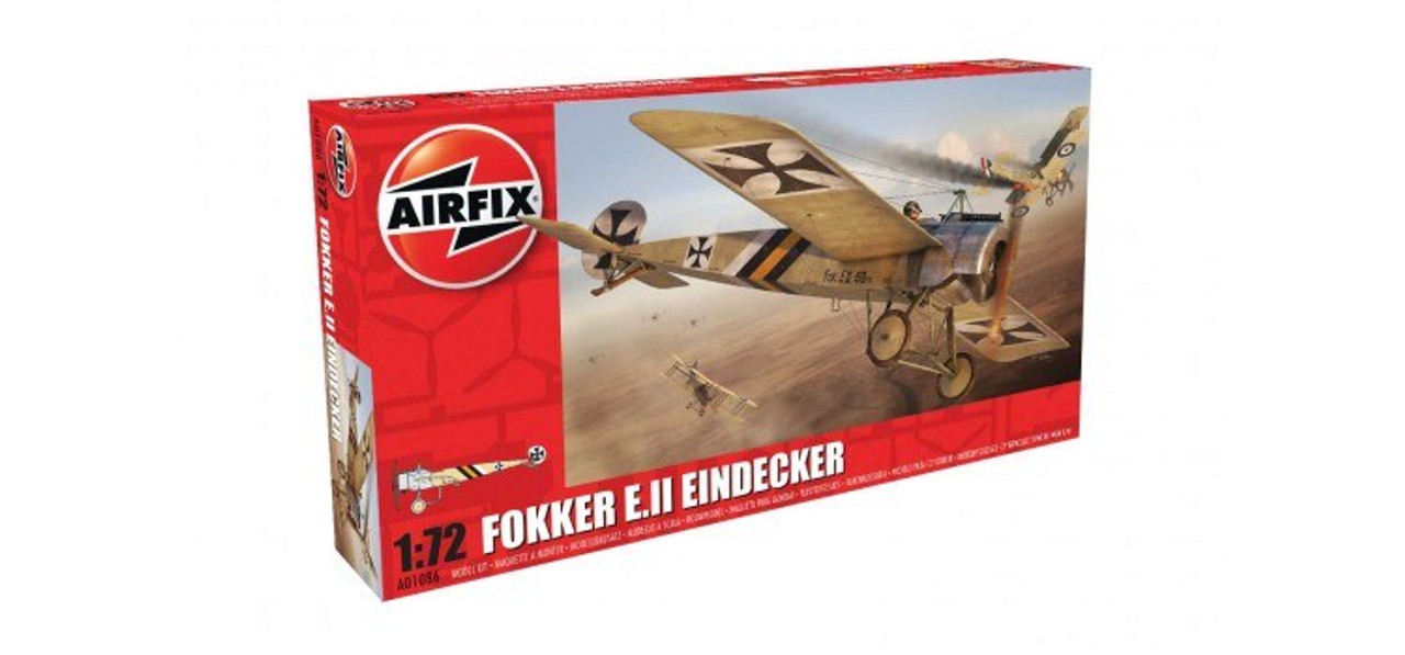 Airfix A01086 Fokker E.II Eindecker 1:72 Scale Model Kit