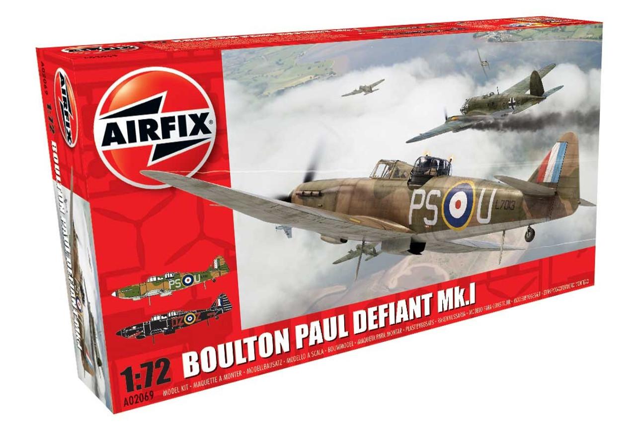 Airfix A02069 Boulton Paul Defiant Mk.1 1:72 Scale Model Kit