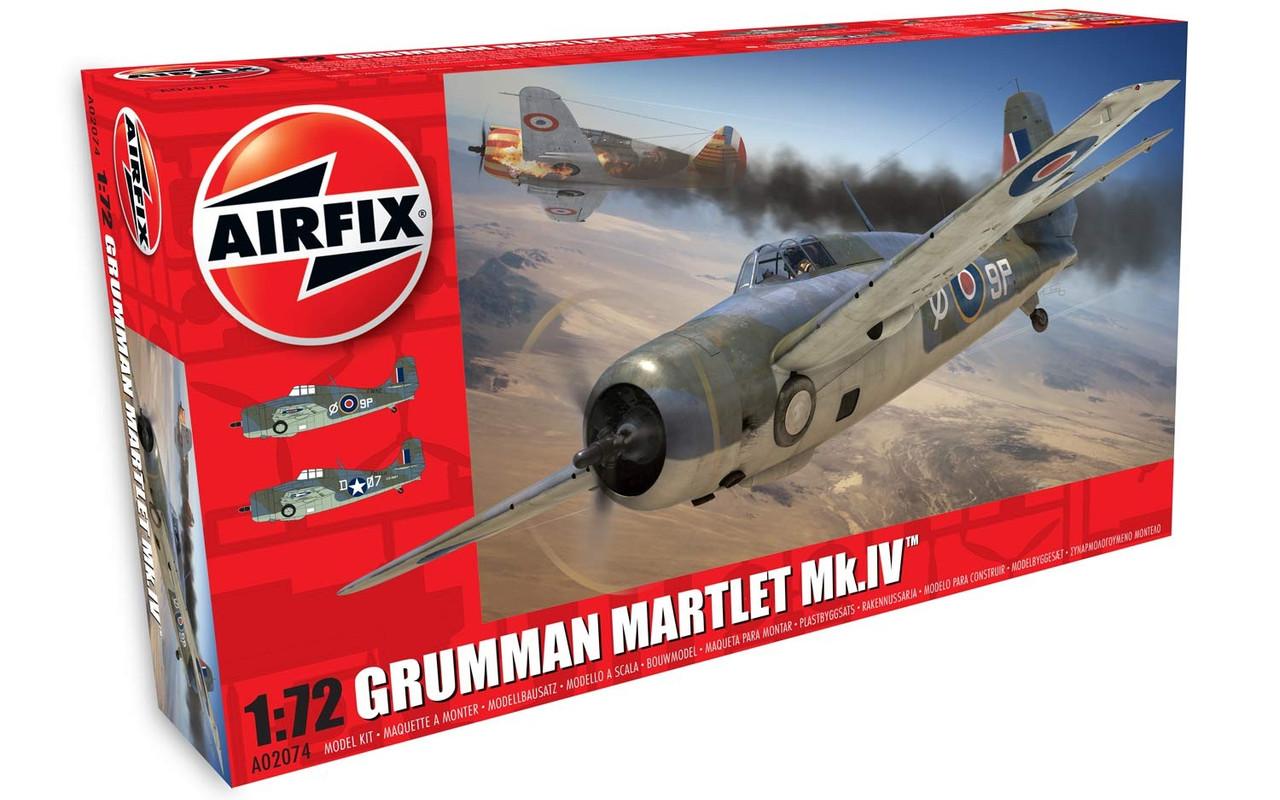 Airfix A02074 Grumman Martlet Mk.IV 1:72 Scale Model Kit