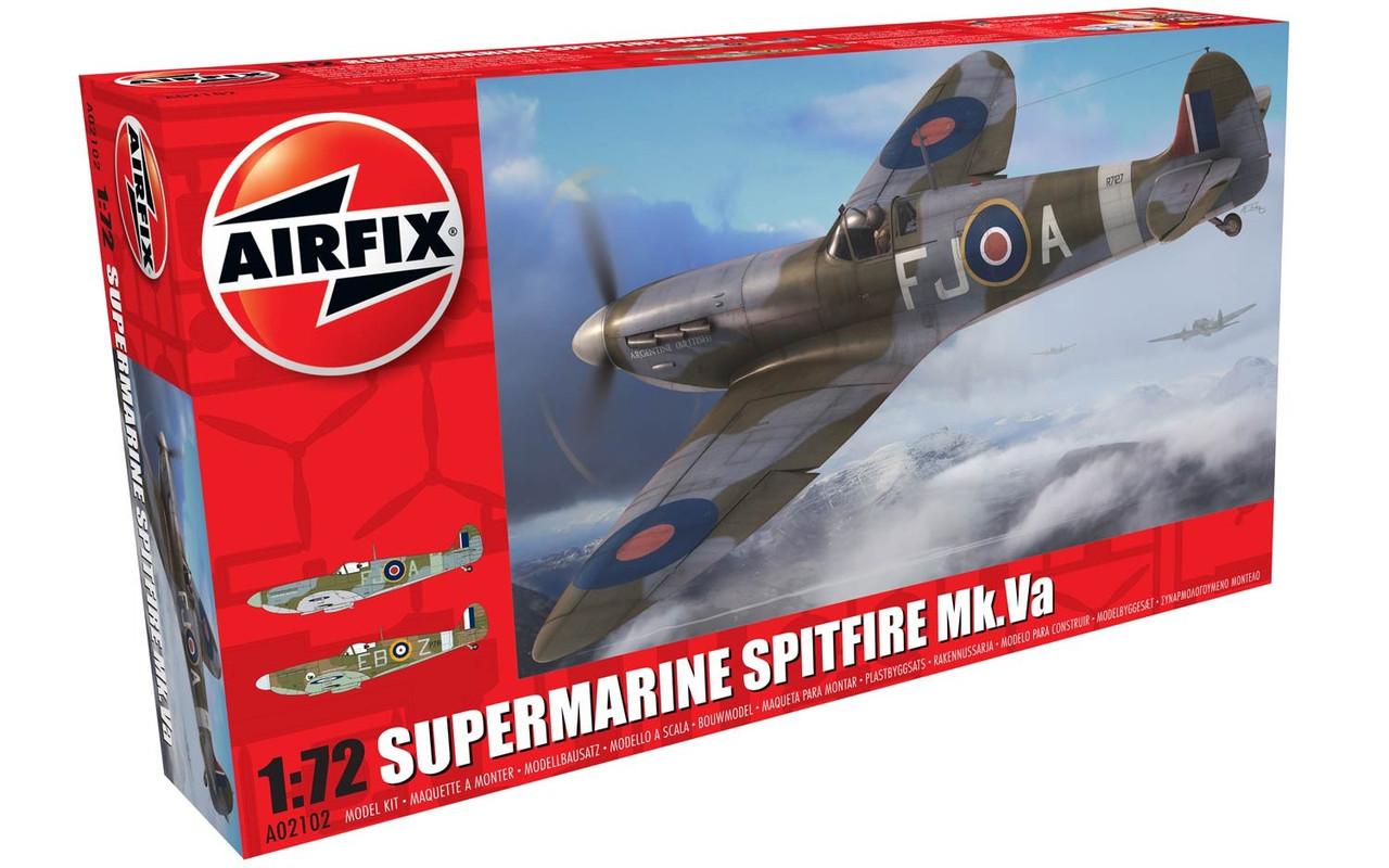 Airfix A02102 Supermarine Spitfire Mk.VA 1:72 Scale Model Kit