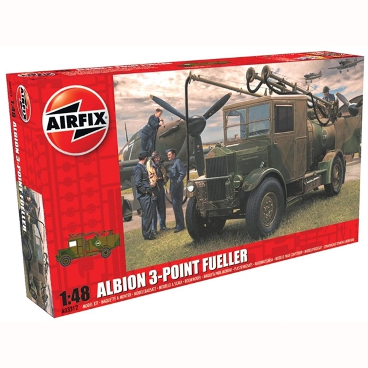 Airfix A03312 Albion AM463 3-Point Refueller 1:48 Scale Model Kit