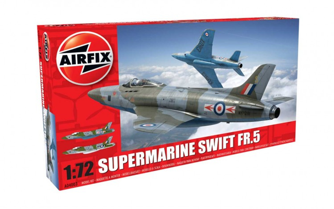 Airfix A04003 Supermarine Swift F.R. Mk5 1:72 Scale Model Kit