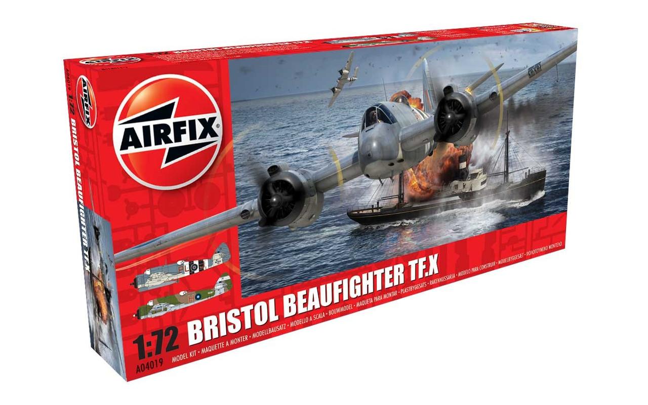 Airfix A04019 Bristol Beaufighter Mk.X 1:72 Scale Model Kit