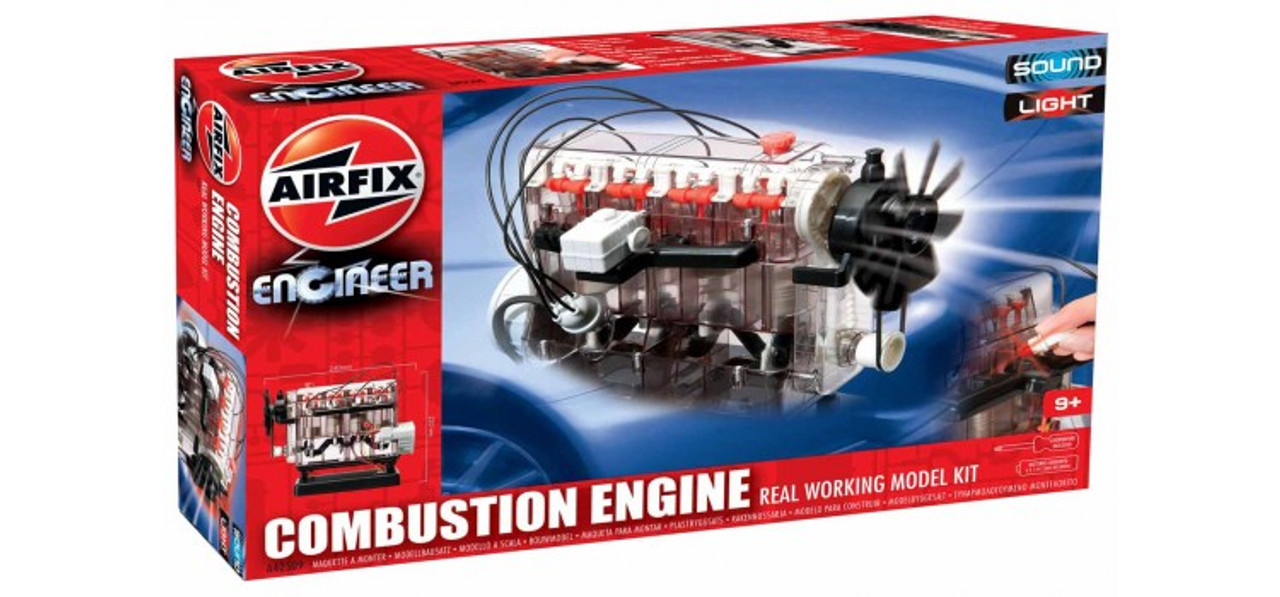 Airfix A42509 Airfix Engineer Combustion Engine Real Working Model Kit