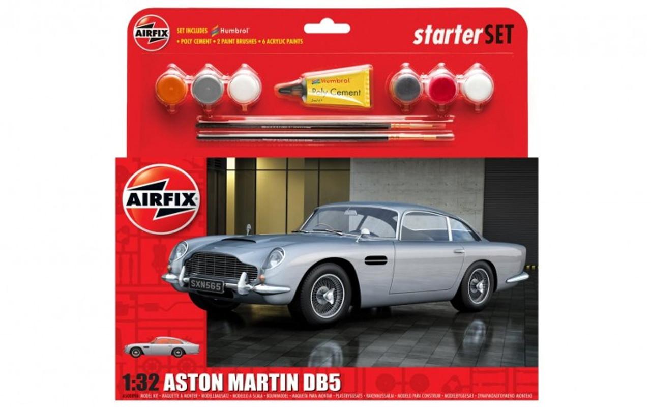 Airfix A50089A Aston Martin DB5 Starter Set 1:32 Scale Model Kit
