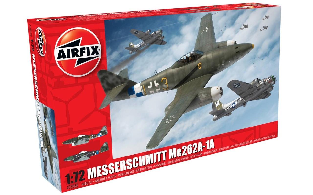 Airfix A03088 Messerschmitt Me262A-1A Schwalbe 1:72 Scale Model Kit