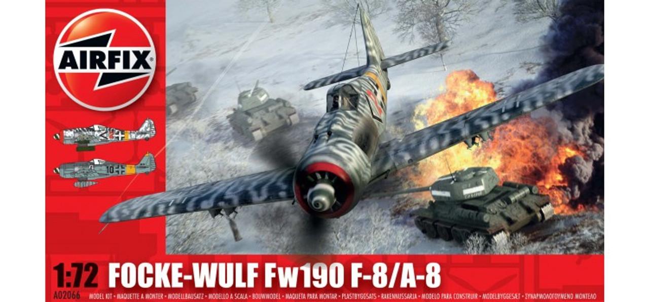 Airfix A02066 Focke Wulf Fw190A 1:72 Scale Model Kit