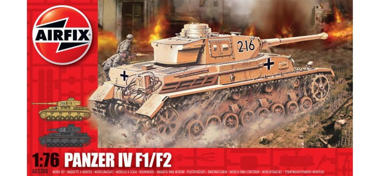 Airfix A02308 Panzer Tank IV 1:76 Scale Model Kit