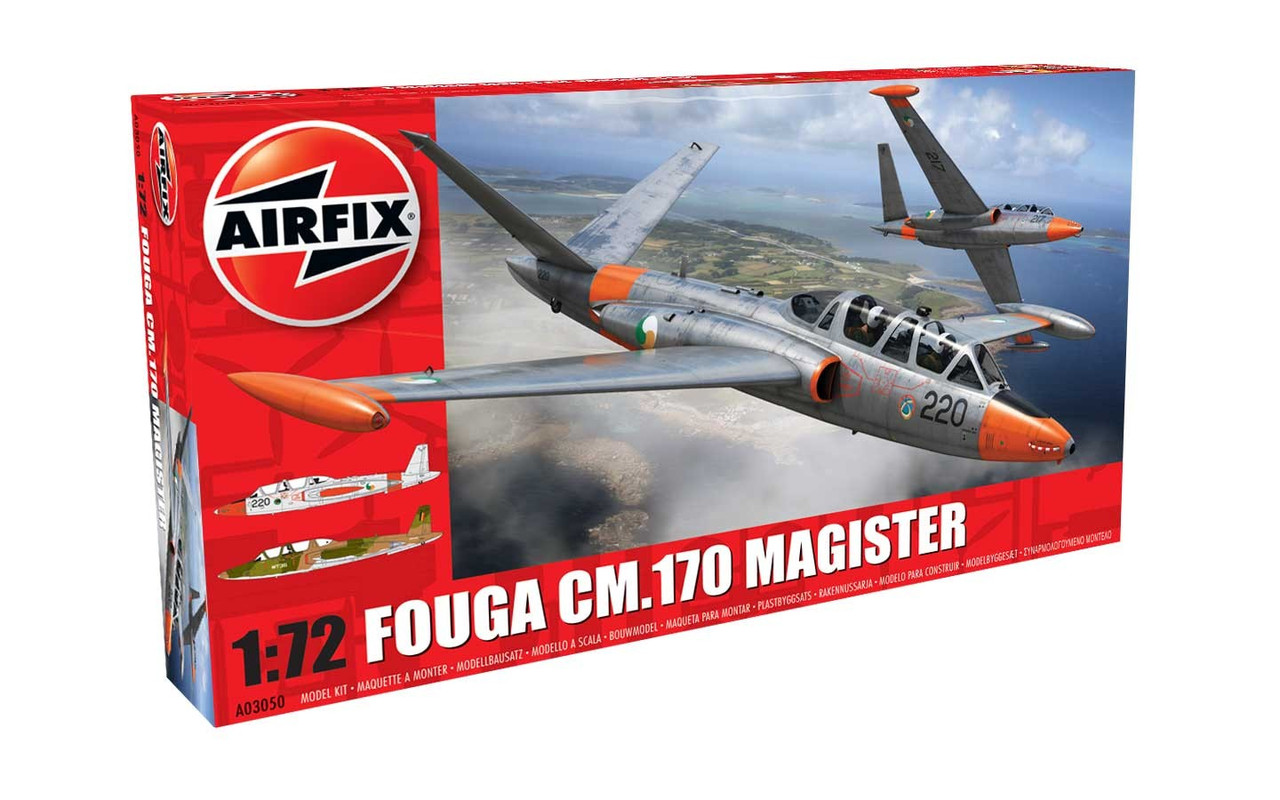 Airfix A03050 Fouga Magister 1:72 Scale Model Kit