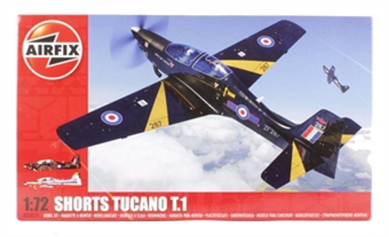 Airfix A03059 Shorts Tucano T1 1:72 Scale Model Kit