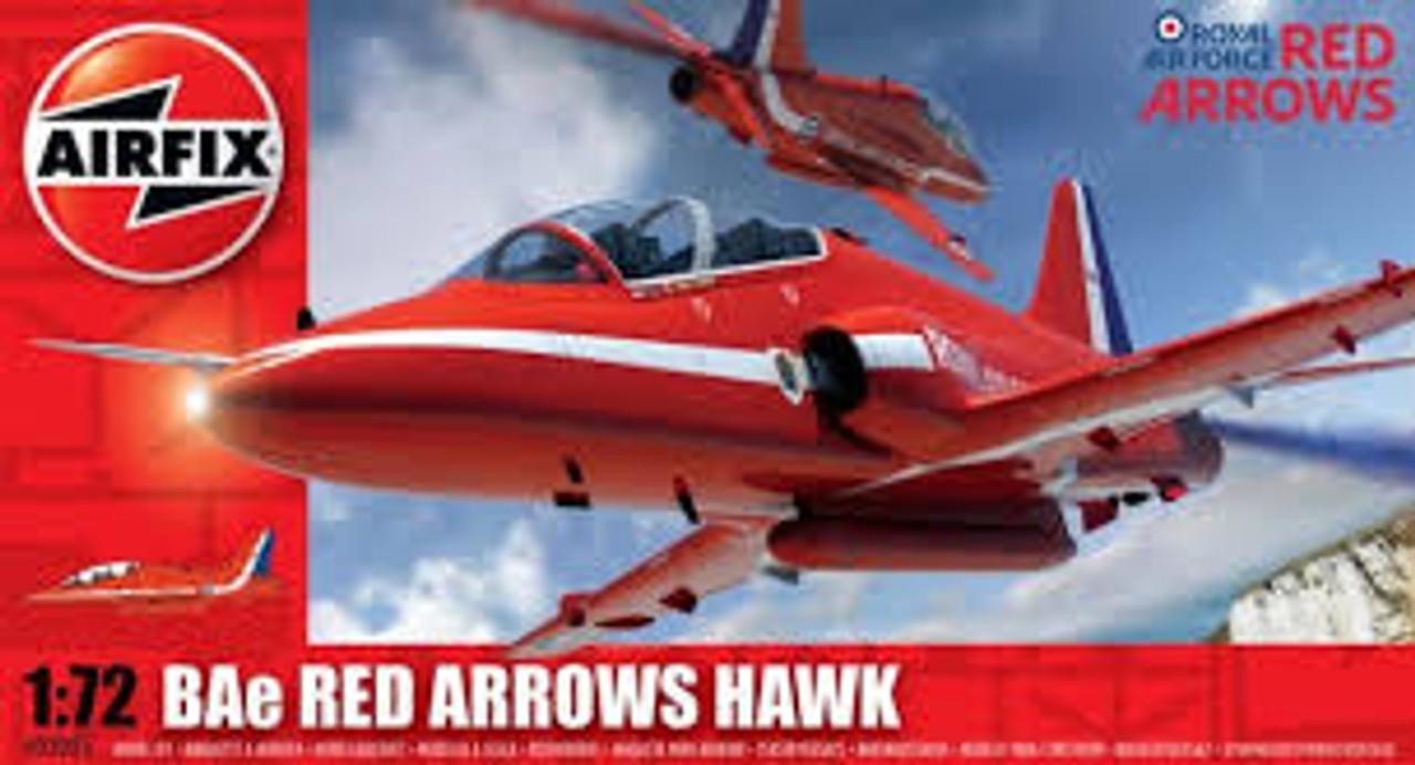 Airfix A02005 Bae Red Arrows Hawk 1:72 Scale Model Kit