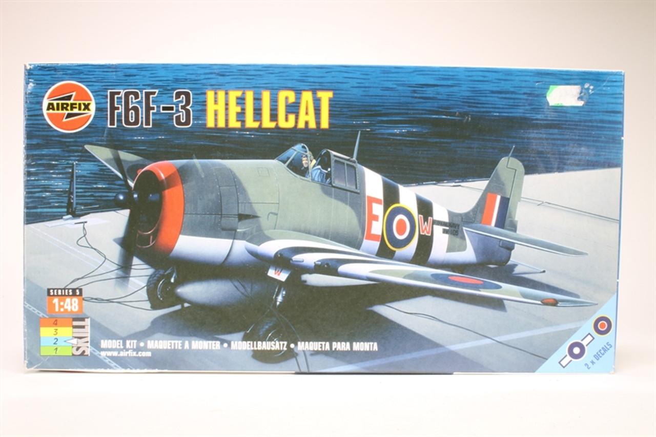 Airfix 05108 F6F-3 Hellcat 1:48 Scale Model Kit